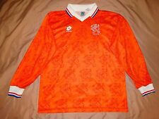 RARE NETHERLANDS HOLLAND 1992 1993 player issue  shirt jersey HOME camiseta LONG