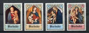 27549) BARBUDA 1971 MNH** Nuovi** Christmas Natale  4v