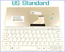 Laptop US Layout Keyboard for Acer Acer Emachine 350 eM350 NAV51 White