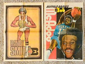 1970's Buffalo Braves RANDY SMITH Buffalo Evening News Newspaper Poster