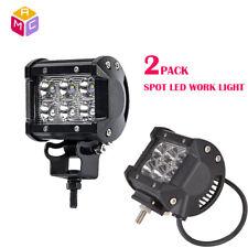 36W 6500K Motorcycle ATV 12LED Headlight Spotlight Fog Spot Lamp DRL Waterproof