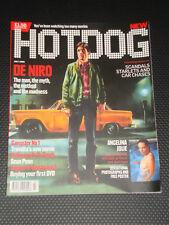 HOTDOG magazine #1, FIRST ISSUE, Premiere, Robert DeNiro, Angelina Jolie, RARE