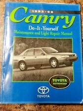 1992-96 Camry Do-It-Yourself Maintenance and Light Repair Manual by Toyota