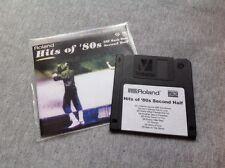 Roland MIDI File Disk - Hits Of The 80s Second Half