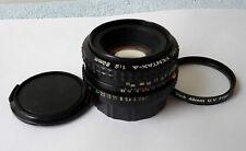 ASAHI PENTAX SMC PENTAX-A 50mm F2 FAST lens fits PENTAX K (PK) mount nice!!!