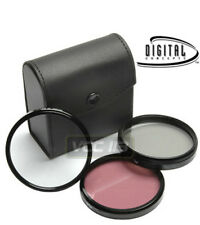 58mm Polarized PL + UV + FLD CAMERA FILTER Kit Set  FOR 58 mm CAMERA LENS