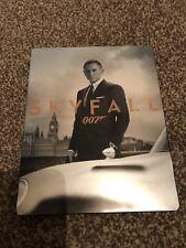 James Bond Skyfall Ltd Edt Steelbook  Blu-Ray + DVD + 8 Postcards Import