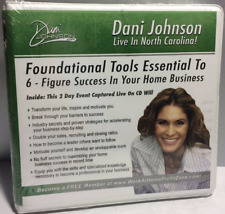 """Dani Johnson """"Live in North Carolina"""" 6 figures in 6 months Unopened New"""