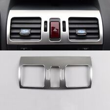 for Subaru Forester XV Stainless steel dashboard console air condition vent trim