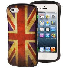 TPU Case Schutzhülle für Apple  iPhone 5 5S SE  Retro Flagge England Etui Hülle