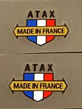 ATAX Component Decals - 1 Pair 19mm wide - Metallic Gold Arrow (sku 11241)