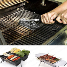 18'' Stainless Steel BBQ Grill Brush Barbecue Cleaning cleaner Tool UK STOCK
