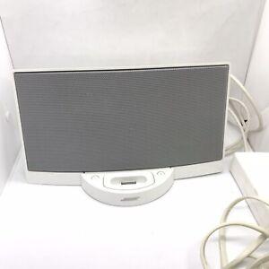 Bose SoundDock Digital Music System iPod Speaker  White 30 Pin NO REMOTE
