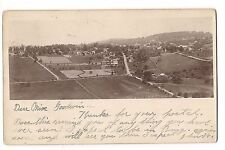 AERIAL Photo of FARM LAND PA ? Pennsylvania Black & White Postcard 1905 UDB