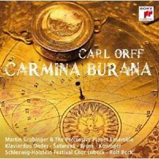 MARTIN GRUBINGER - CARMINA BURANA  CD CARL ORFF NEW+
