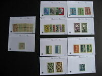 Sales cards stock breakdown, PORTUGAL MNH mostly 1953-63,unverified,check  m out