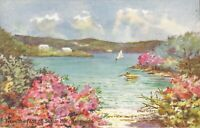 BERMUDA - View from Foot of Scaur Hill - ARTIST SIGNED:  Ethel Turkey