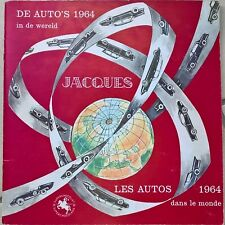 Album Chromos/ Chocolat Jacques/ Les autos 1964 / Complet / TB état