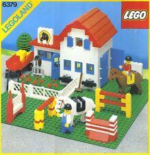 NEW Lego Town Classic 6379 RIDING STABLE LEGOLAND Sealed  Girl Female Horse Farm