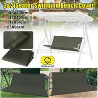 2/3 Seat Garden Waterproof Swing Cover Chair Replacement Patio Outdoor
