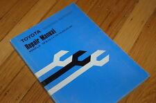 TOYOTA 5FB10 5FB14 5FB15 5FB18 5FB20 5FB25 5FB30 Forklift Repair Service Manual