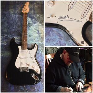 GFA Traffic Guitarist DAVE MASON Signed Autographed Electric Guitar COA