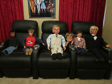 RARE MAHER Moving Eyes Ventriloquist Dummy Puppet Movie Prop CHOOSE ONE!