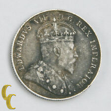 1903-H Canada 10 cents, Silver Coin, Very Fine VF, KM# 10