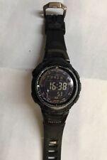 CASIO PRW-1300Y , Protrek Casio Black Watch  Tough Solar Stainless Steel