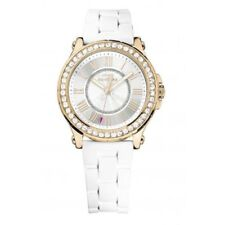 Juicy Couture Women's 1901052 Pedigree Rose Gold Tone Crystal Watch