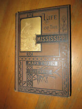 Mark Twain LIFE ON THE MISSISSIPPI First Edition A clean copy!