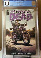 Walking Dead 15 CGC 9.8 DEATH CHRIS RACHEL SUSIE + WD #1 STORE VARIANT