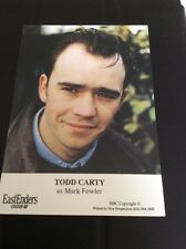 Mark Fowler- Todd Carty  EASTENDERS  -cast Card Rare ❤️
