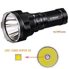 ACEBEAM K70 2600LM CREE XHP35 HI Tactical 4* 18650 LED Flashlight Torch 1300M