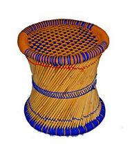 KKSM Eco Friendly Handicraft Cane Bar Bamboo Muddha Outdoor/Indoor Multicolor