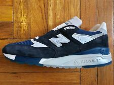 New Balance 998 JC6 Navy White Made In USA 996 1300 1400 1500 1600 J Crew