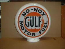 GULF NO-NOX GAS PUMP GLOBE