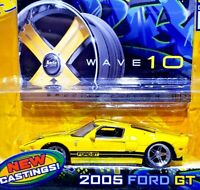 Jada Dub City 2005 Ford GT Yellow Special Edition 1/64 Scale 100% Diecast METAL