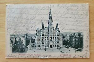 Postcard Germany Reichenberg in Bayern 1899