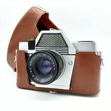 Soviet SLR Film Camera Kiev 10 Automat Vintage 35 mm Helios 81 2/50 Lens USSR