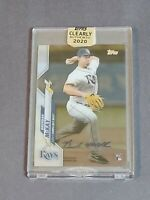 Brendan McKay Rookie Auto Tampa Bay Rays 2020 Topps Clearly Authentic #CCA-BM