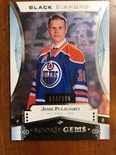 16-17 UD Black Diamond Rookie Gems #RG-JP Jesse Puljujarvi /399