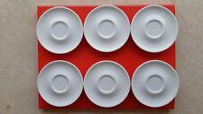 Servizio Set 6 Piatti Tazza Caffè Richard Ginori art. 351 (cm 11) Made in Italy
