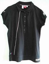 PUMA BMW MOTORSPORT XL SPORT Polo Shirt Top Blue Logo Short Sleeve Buttons