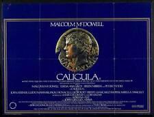 CALIGULA Movie POSTER 30x40 Malcolm McDowell John Gielgud Peter O'Toole Helen