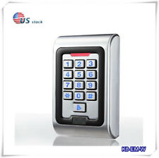 Metal Case Standalone Access Controll Waterproof IP68 RFID EM Reader Keypad