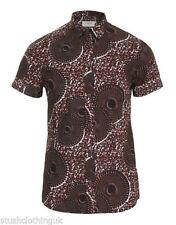 Camicie casual da uomo a manica corta multicolore