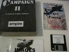 """Campaign II PC game 3.5 """" disk Empire Software 1993"""