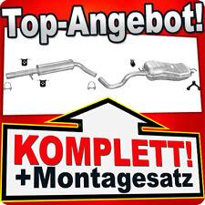 Auspuff VW GOLF 4 IV 1.8 T GTI 2.0 2.3 V5 / BEETLE 1.8 T 2.0 Auspuffanlage 009B