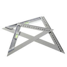 150mm Triangle Ruler 90°/Alloy Measuring Tool With Bead/Horizontal Woodworking